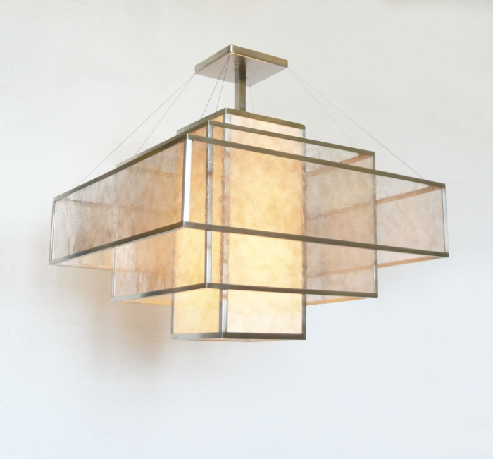 Custom Aquila™ Quartz Chandelier II